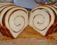 Cinnamon swirl bread - stretch and fold method