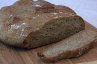 Beer Bread with Roasted Purple Barley