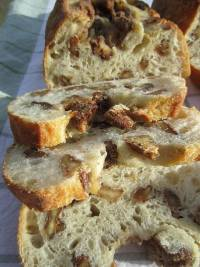 Basic White Sourdough with Walnuts Variation