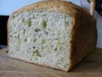 Yeasted Zucchini Bread