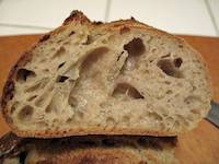 San Joaquin Sourdough with liquid levain