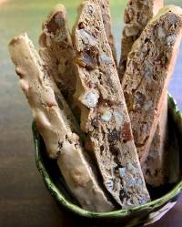 Ginger-Pecan Sourdough Biscotti