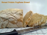 Sweet potato pugliese bread
