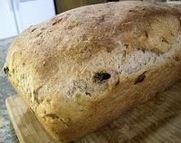 Honeyed Raisin Corn Bread