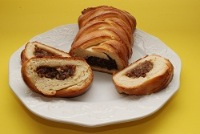 Plaited Prune Bread