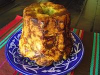 Cilantro Pesto & Cheddar Monkey Bread