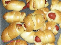 Mini Hot Dog Rolls