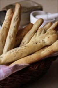 Cumin Onion Bread Sticks