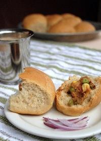pav bhaji rolls
