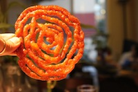 Jalebi (Indian deep fried dessert)