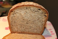 Mint Almond Wheat Bread