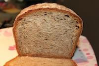 Mint Almond Wheat Bread