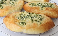 Parsley and Garlic Buns