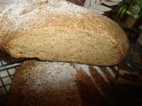 Whole-wheat boules