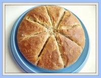 No Knead Yeasted Banana & Cardamom Bread