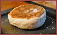 Whole Wheat Sourdough Muffins