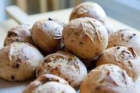 Sourdough Onion Rolls