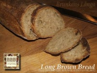 Brunkeberg's Bakery Long Brown Bread