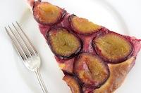 Plum Brioche Cake
