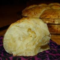 Sourdough and Parmesan Pull-Apart Rolls