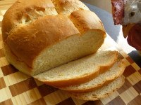Milk and Honey Bread (with Saffron)