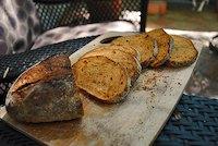 Polenta-Crust Tomato Loaf