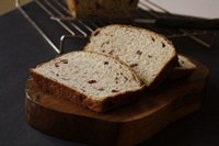 Whole Wheat Orange Cranberry Bread