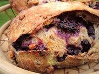 Blueberry Walnut Rye Sourdough