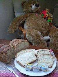 Earl Grey Milk Tea Loaf and White Loaf