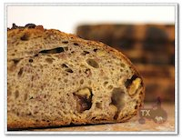 sourdough walnut bread