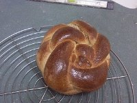 KAF's Whole Wheat Challah