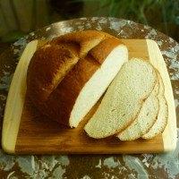 Bread from surplus sourdough starter