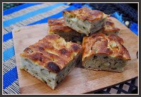 Roasted Potato and Olive Focaccia