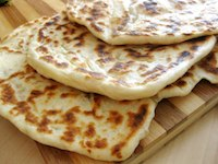Fried Yogurt Flatbread