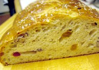 Festive Braid with Dried Fruits and Nuts