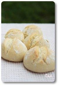 Petits pains ronds