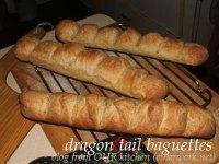 dragon tail baguettes