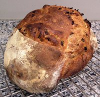 Pain Au Levain with Scallions and Sesame Oil
