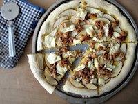 Pumpkin Pizza Dough
