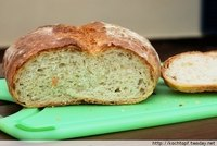 Char-Roasted Potato Bread
