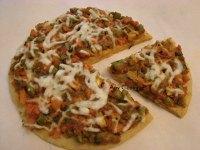 Veggie Garam Masala Pizza  with Whole Wheat Base