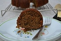 Sourough Vegan Apple Butter Cake
