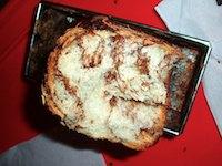 Chocolate banana swirl bread