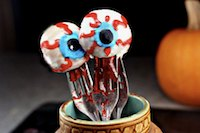 Bleeding Eyeball Doughnut Holes
