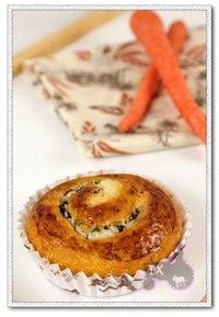 Carrot Cake Sourdough Rolls