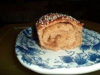 Yam Swirl Bread (fat free)