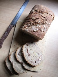 Apple Walnut Rye