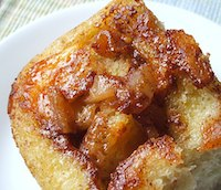 Apple Cheddar Sticky Buns
