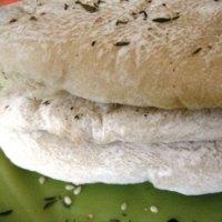Handmade Za'atar Spiced Pita Bread