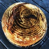 No Knead Sourdough Bread